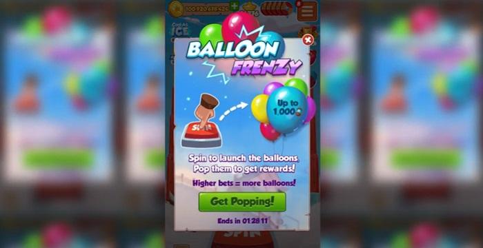 Balloon Frenzy Coin Master