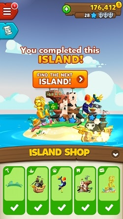 Pirate Kings island costs complete island